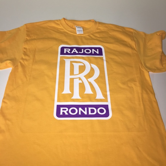 best website d1aef ee0db Los Angeles Lakers Rajon Rondo Shirt NWT
